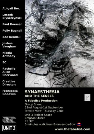 Synaesthesia and the Senses Flyer