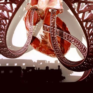Roller Coaster Heart - Matt Black
