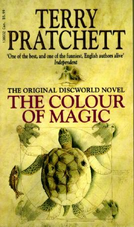 The Colour of Magic, by Terry Pratchett