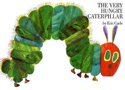 Eric Carle and the Very Hungry Caterpillar