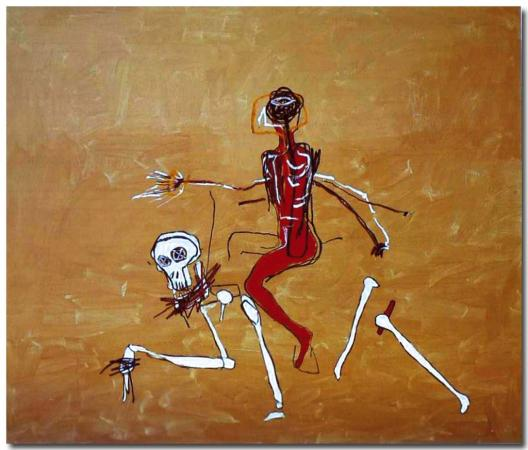 Basquiat, Riding with Death