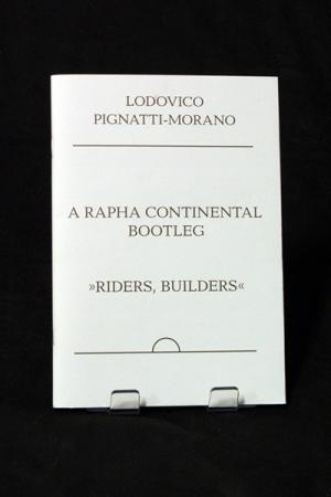 Ludovico Pignatti-Morano, A Rapha Continental Bootleg
