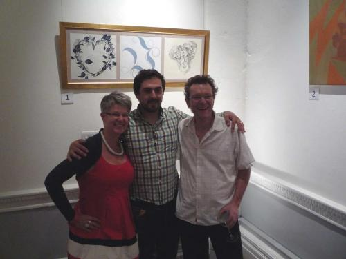 Liz Dalton, Dan Prescott and Bruno Maag