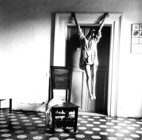 Francesca Woodman - Self Portrait